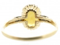 18ct Gold Citrine & Diamond Ring by Birks of Canada