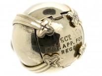 Masonic 9ct Gold & Silver Opening Pendant