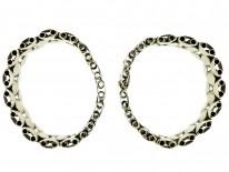 Pair of Victorian Silver Gilt Bracelets