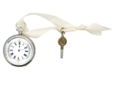 Victorian Swiss Silver Pocket Watch