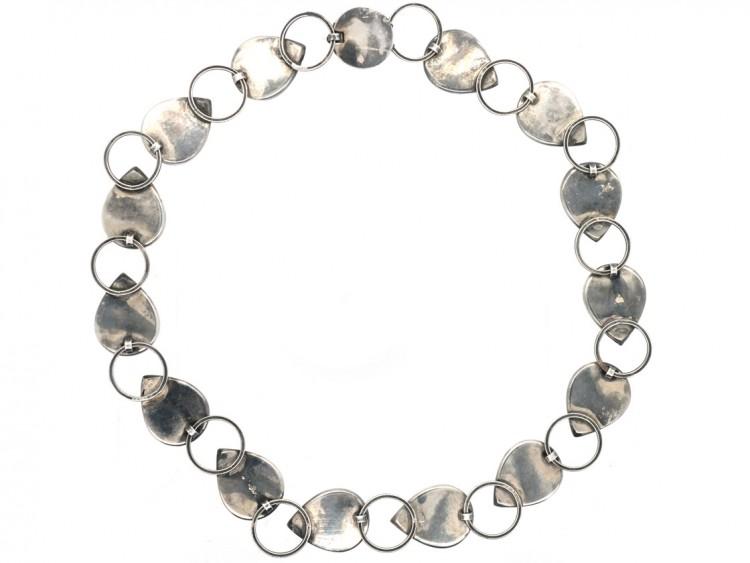 Silver German Collar