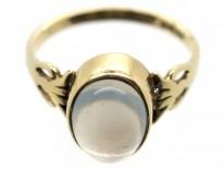 9ct Gold Moonstone Ring