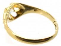 Victorian 18ct Gold & Old Mind Cut Diamond Ring