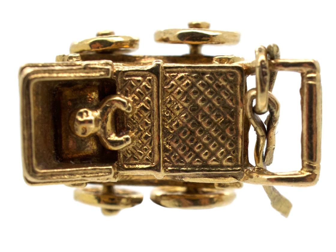 9ct Gold Baby in Pram Charm