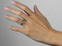 Regency Ruby & Natural Pearl 15ct Gold Ring