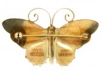 Silver Gilt & Enamel Brooch by David Anderson