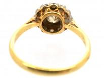 Edwardian Diamond Cluster Ring