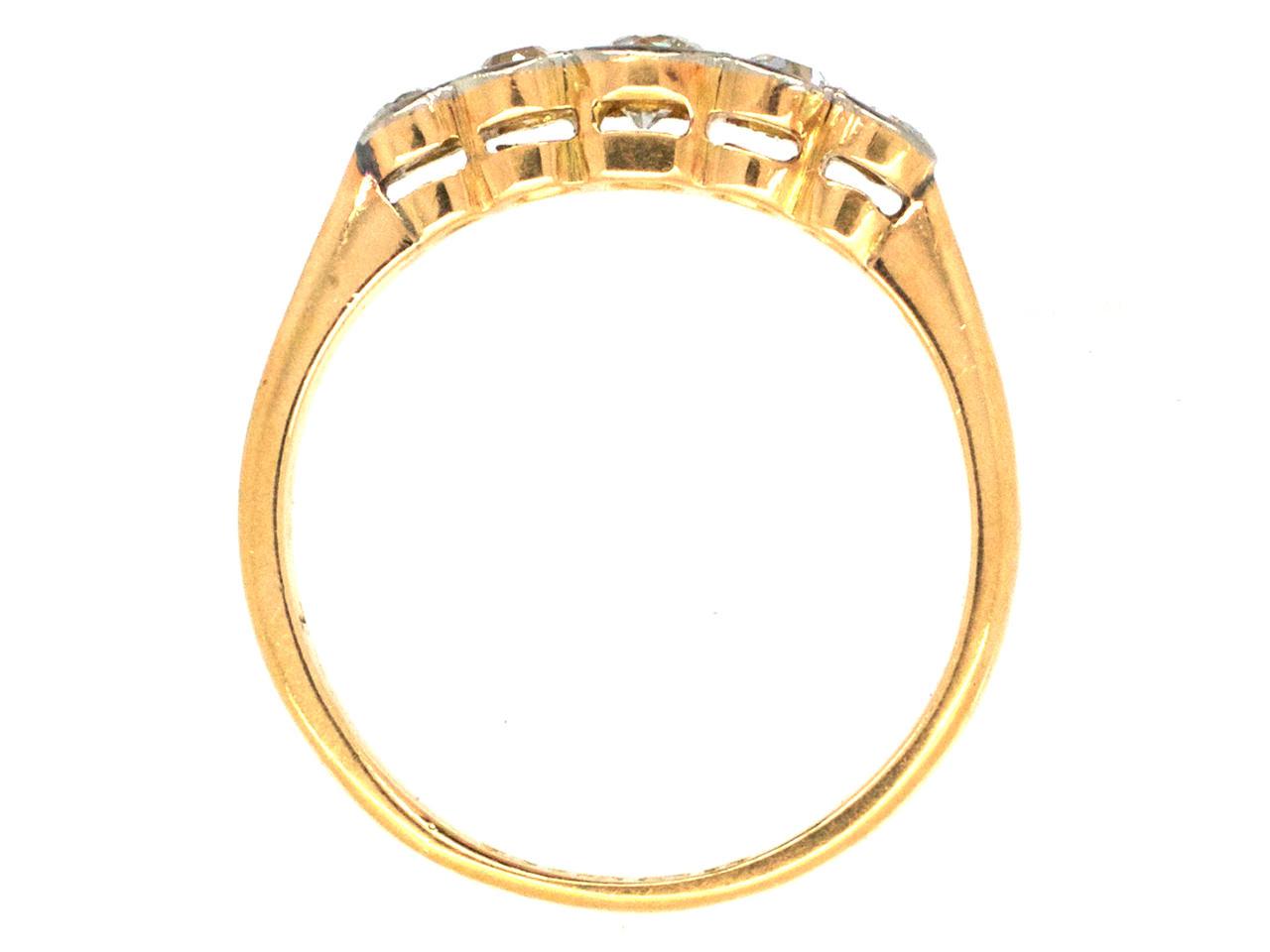 Edwardian Five Stone Diamond Ring