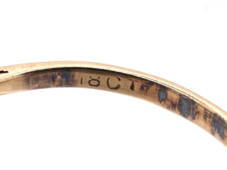 Edwardian Diamond Three Stone Ring