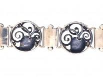 Danish Silver Bracelet by Henning Oddershede
