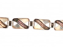 Theodor Farhner Silver & Marcasite Bracelet