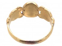 Regency 18ct Gold Clasped Hands Friendship Ring