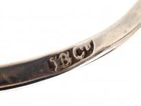 Large 18ct Gold & Platinum Diamond Daisy Cluster Ring