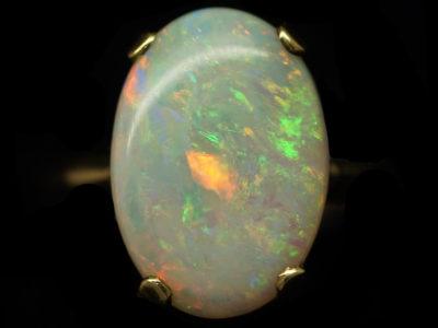 9ct Gold & Opal Dress Ring