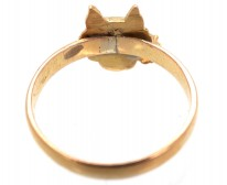 Wolf's Head 18ct Gold Ring
