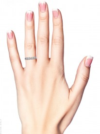 Art Deco Diamond Set Eternity Ring