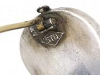 Victorian Silver Violin Brooch