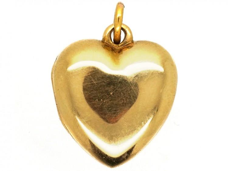 Victorian 18ct Gold Heart Locket