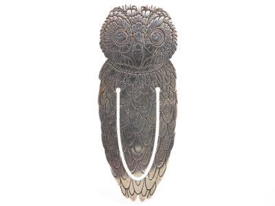 Silver Owl Bookmark