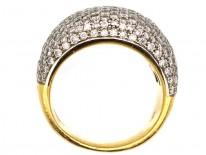18ct Gold Diamond Pavé set Ring