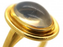 Oval 18ct Gold Moonstone Ring