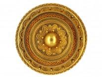 Victorian 15ct Gold Brooch & Earrings Set in Original Case