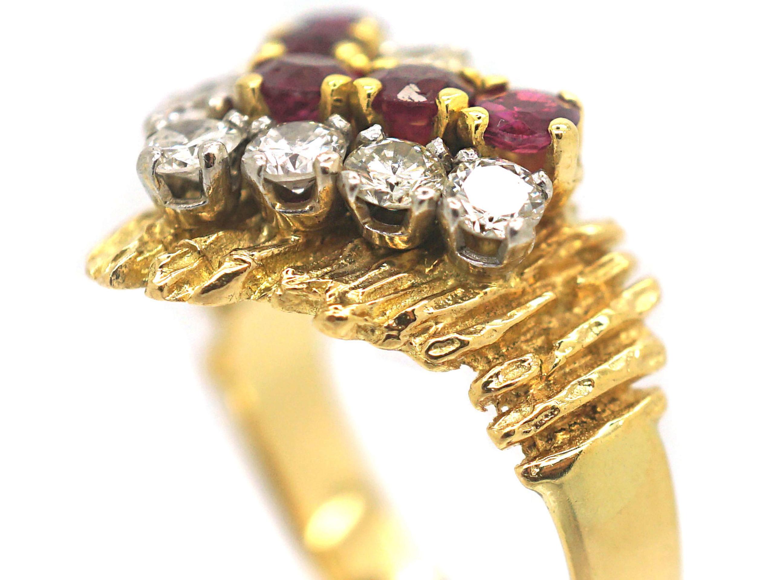 1960s Ruby & Diamond Ring
