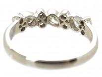 18ct White Gold Diamond Set Half Eternity Ring