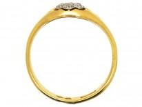 Edwardian 18ct Gold Diamond Cluster Ring