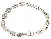 Silver & Marcasite Art Deco Bracelet
