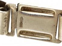 Silver Art Deco Bracelet by  Kollmar & Jourdan