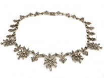 Silver & Marcasite Necklace