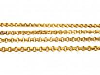 Edwardian 15ct Gold Chain