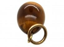 Tiger's Eye Egg Pendant