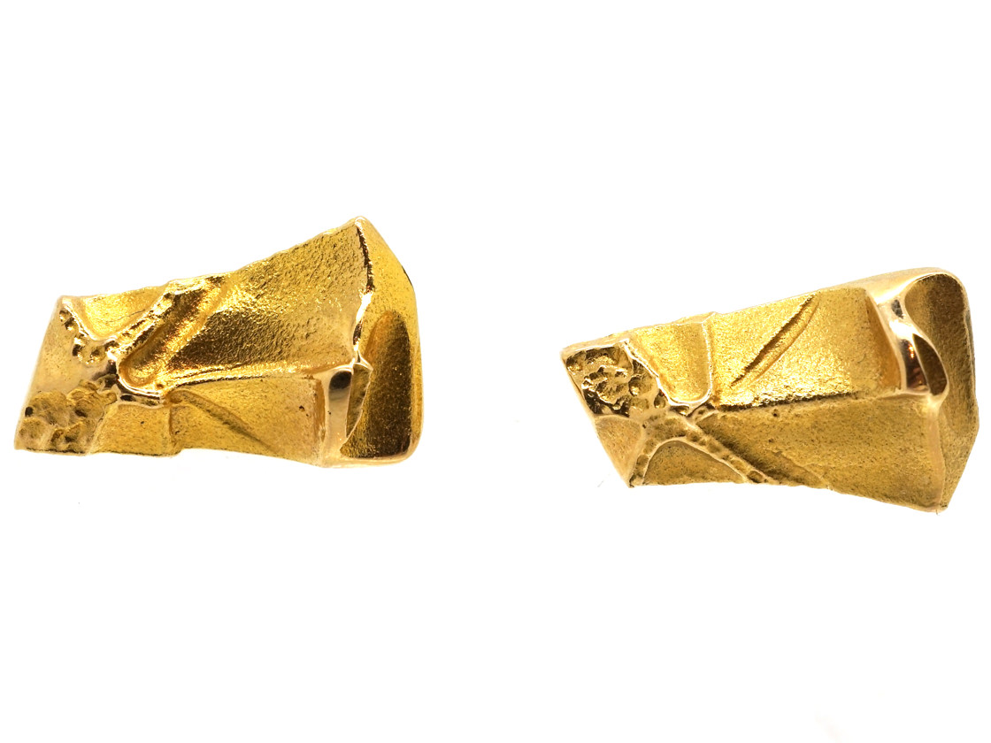 14ct Gold Earrings by Lapponia