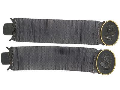 Pair Berlin Iron Bracelets