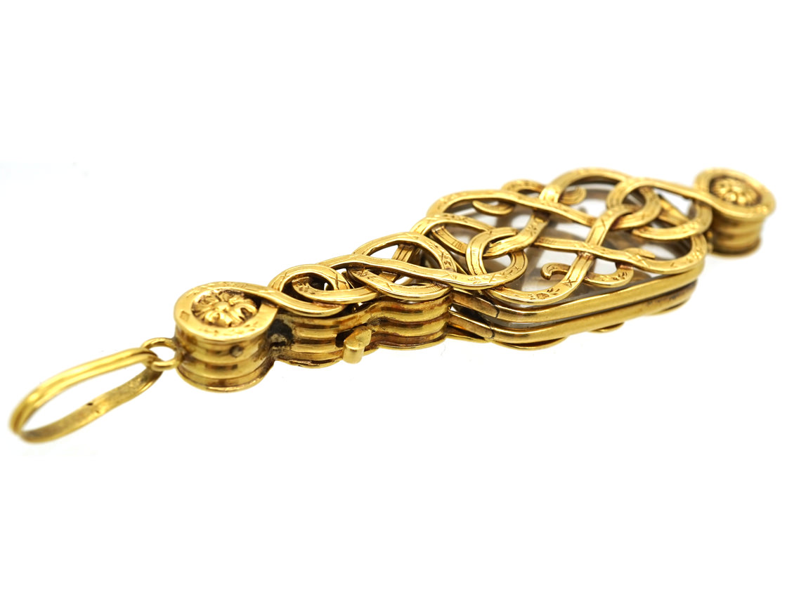 18ct Gold French Lorgnettes