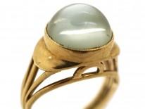 14ct Gold Moonstone Ring