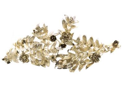 Victorian Silver Lilies Tiara
