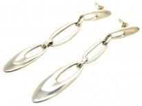 Georg Jensen Silver Drop Earrings