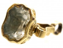 Victorian Hinged Seal With Rock Crystal Base