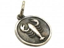 Scorpio Silver Charm by David Anderson