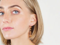 Victorian Gold & Citrine Drop Earrings