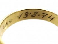 14ct Gold Wedding Band