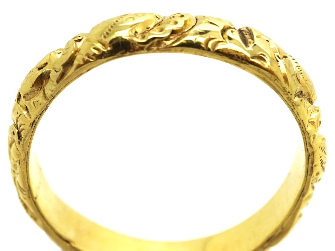 Georgian 18ct Gold Wedding Band