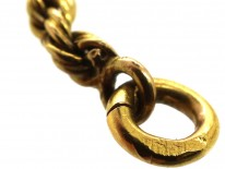 Edwardian 15ct Gold Prince of Wales Chain