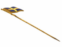 The Gothenburg Tercentennial Jubilee Exposition Tie Pin