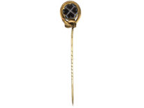 Victorian Banded Sardonyx Tie Pin
