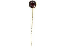 Victorian Gold & Garnet Tie Pin