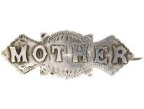 Victorian Silver Mother Brooch